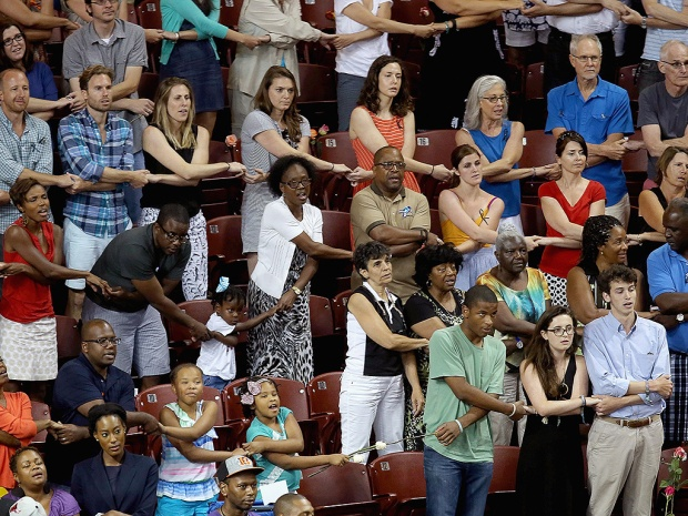PHOTO CREDIT: Chip Somodevilla (Getty Images) - A Vigil for Charleston